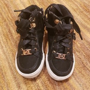 Michael Kors little girl sneakers- 6M